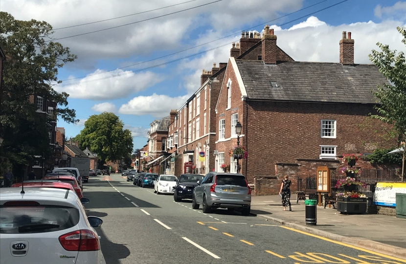 Tarporley High Street