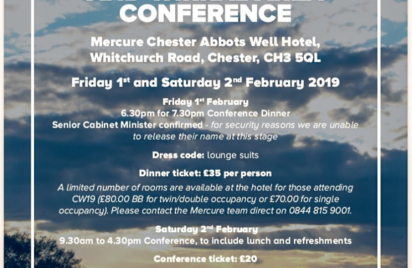 7th Annual Cheshire and Wirral Area Conference