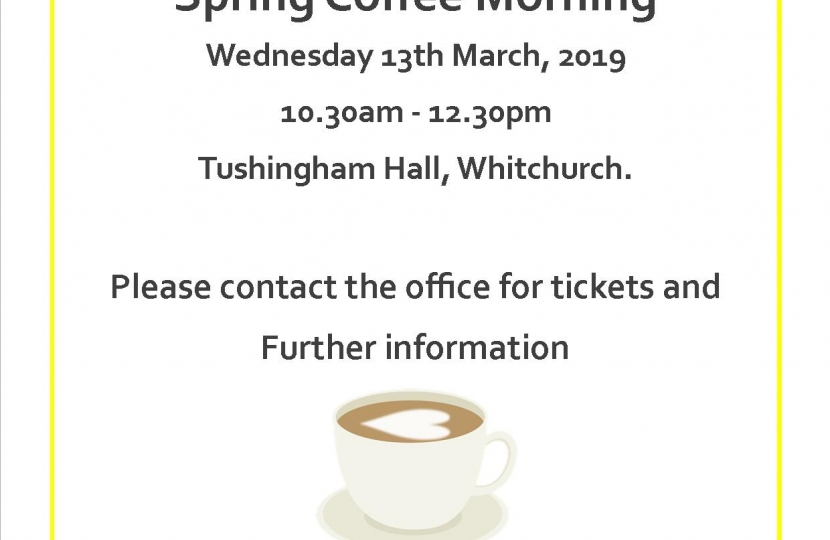 Eddisbury Coffee Morning