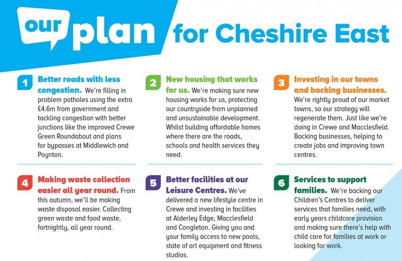 Cheshire East Our Plan